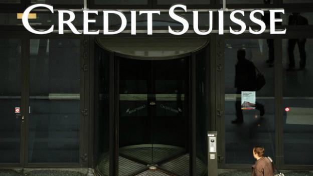 Die Crédit Suisse ist Thema um 09.30 an einer Pressekonferenz von Finanzministerin Eveline Widmer-Schlumpf.