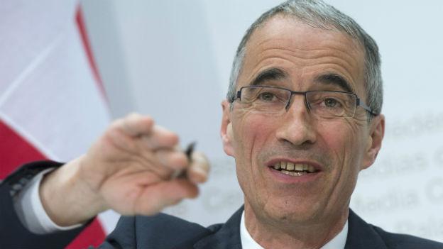 Serge Gaillard, Direktor der Eidgenössischen Finanzverwaltung
