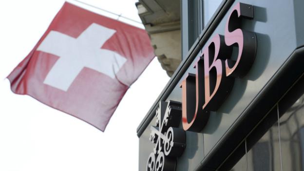 Ein UBS-Gebäude in Zürich.