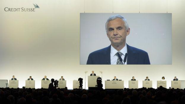 CS–Verwaltungsratspräsident Urs Rohner ist auch erleichtert über die Einigung.