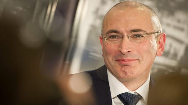 Portraitaufnahme von Michail Chodorkowski.