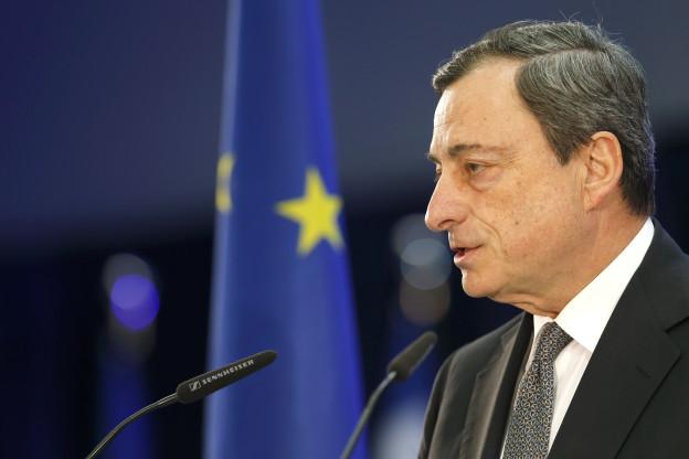 Der Präsident der Europäischen Zentralbank EZB, Mario Draghi, bei einem Auftritt im März 2015 in Frankfurt.