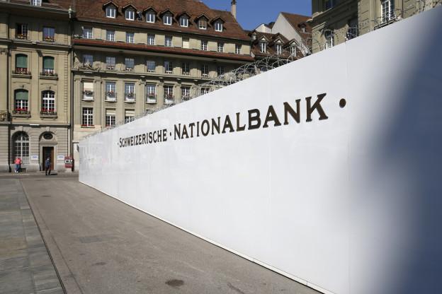 Der Hauptsitz der SNB in Bern.
