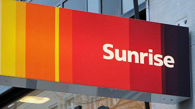 Das Logo von Sunrise.