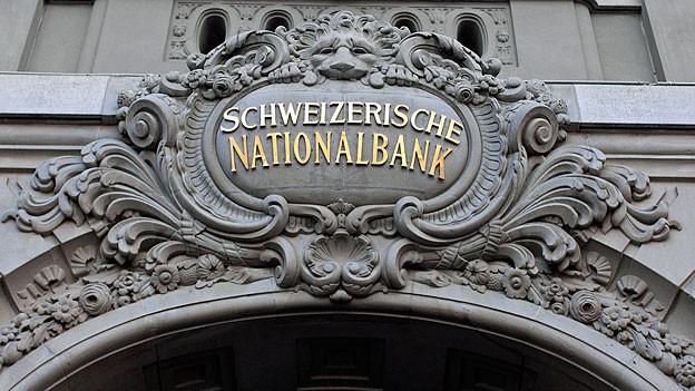 Das Logo der SNB.