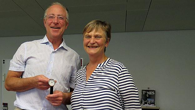 André Bernheim und Birgit Bircher.