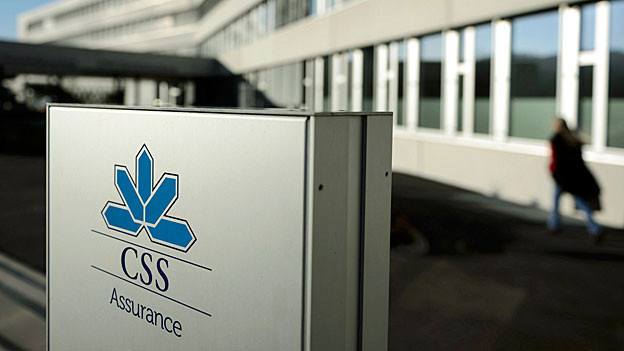 Das Logo der Krankenkasse CSS.