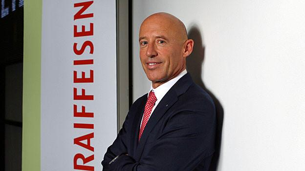 Raiffeisenchef Patrik Gisel.