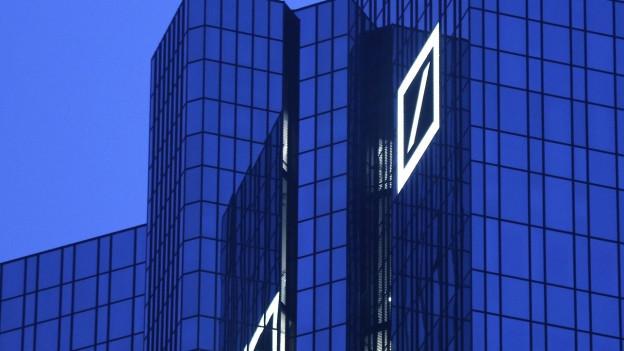 Der Hauptsitz der Deutschen Bank in Frankfurt.