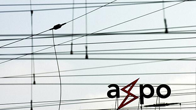 Das Logo von Axpo.