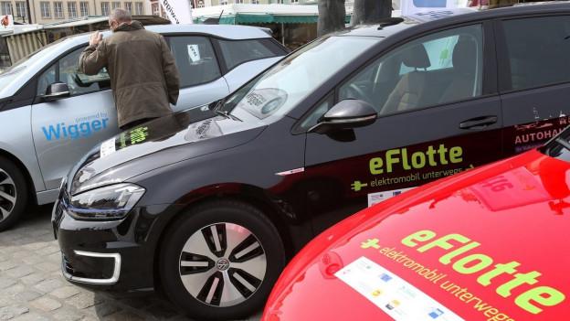 Tesla ist bei den Schweizern beliebt.