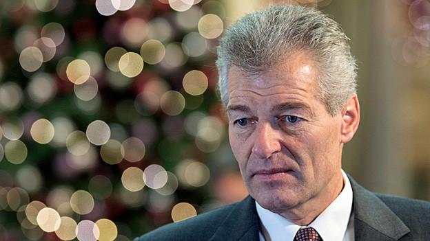 Heinz Karrer. Portraitbild.