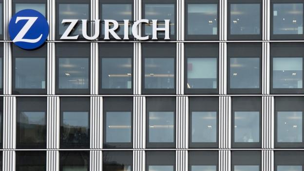 Die Zurich Versicherung erhält das renommierte Edge-Label für ihren Kampf gegen Lohnunterschiede zwischen den Geschlechtern. Das Bild zeigt das Gebäude der Zurich Versicherung in Oerlikon.