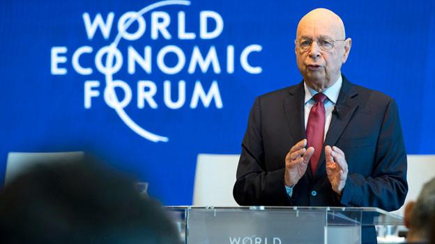 Klaus Schwab, Gründer und Executive Chairman des World Economic Forum, WEF.