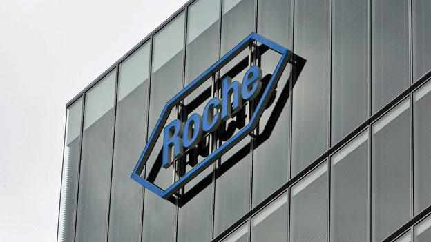 Logo von Roche.Symbolbild