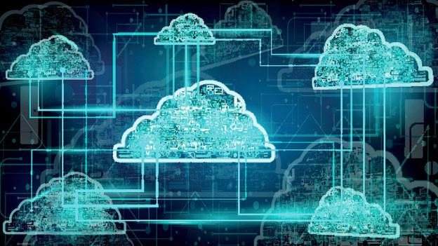 Daten-Cloud. Symbolbild.