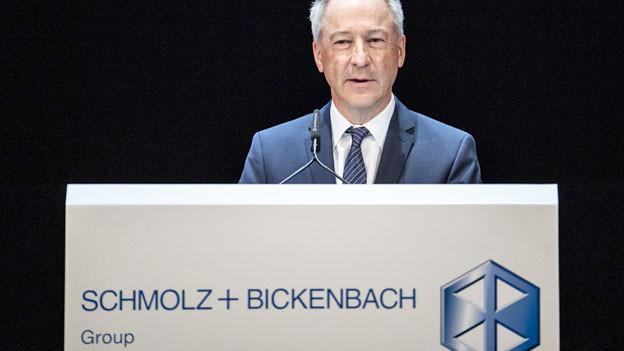Jens Alder, Verwaltungsratspräsident von Schmolz und Bickenbach AG. Archivbild April 2019.