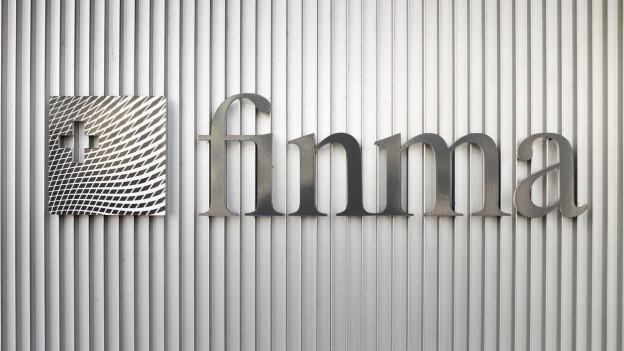 Das Logo der Finma.