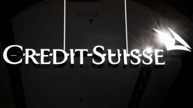 Logo der Credit Suisse. Symbolbild.