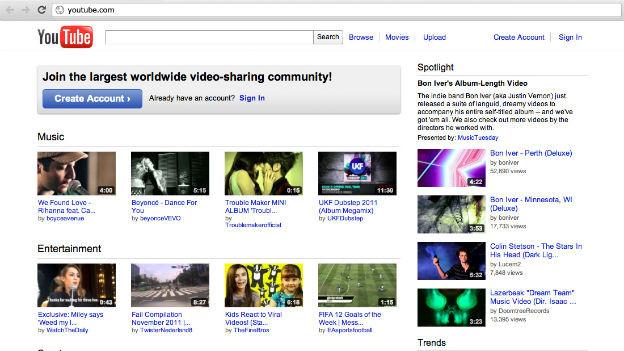 Youtube wird von jungen Nutzern häufig als Musik-Dienstleister genutzt.
