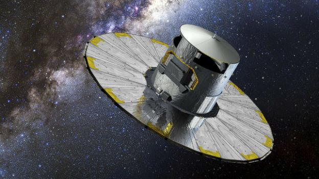Die Raumsonde «Gaia» soll die Milchstrasse kartographieren.