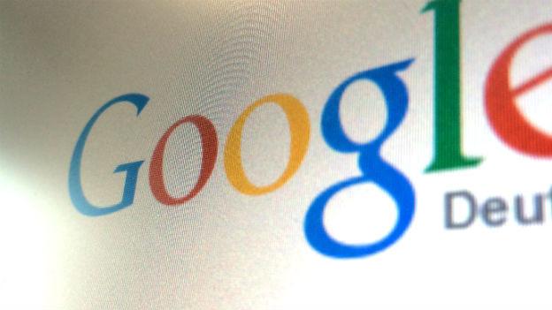 Screenshot der deutschen Google Einstiegsseite.