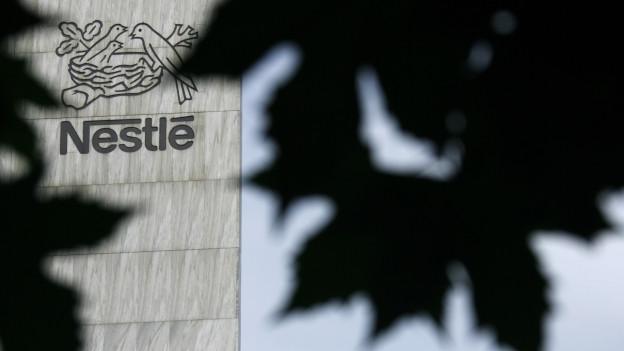 Zu sehen ist der Nestlé-Hauptsitz in Vevey/VD.