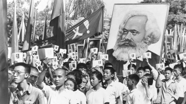 Rote Garden 1966 in Peking