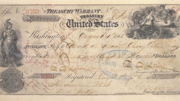 Check für den Kauf von Alaska
