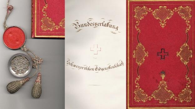 Die originale Bundesverfassung von 1848