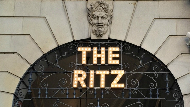 The Ritz in Paris.