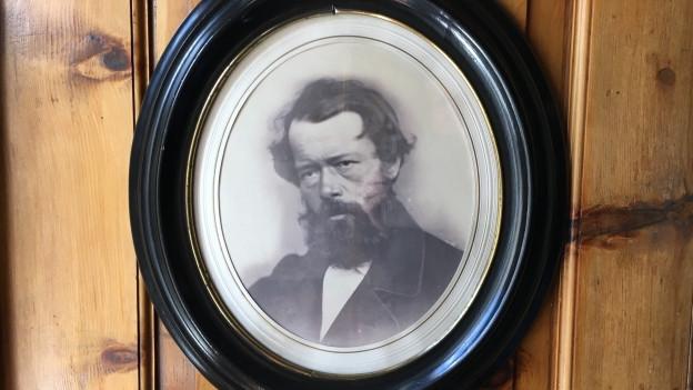 Porträt des Bündner Hotelpioniers Johannes Badrutt