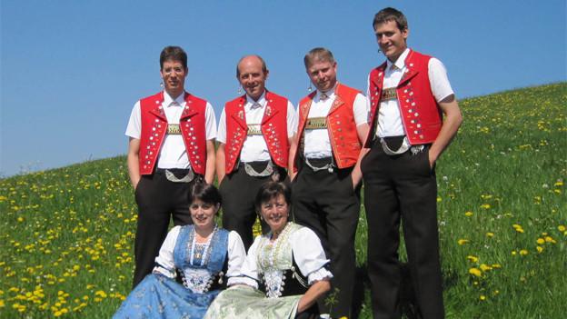 Jodlergruppe Hirschberg Appenzell.