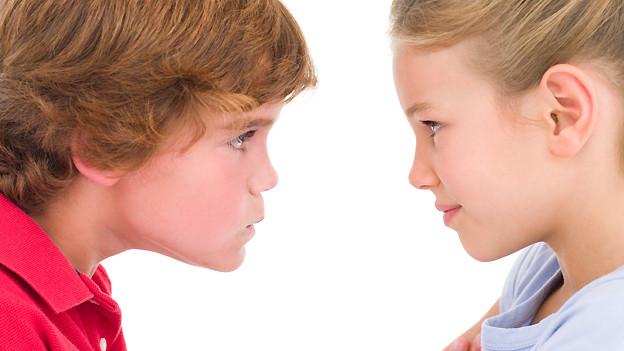 Wenn Geschwister streiten, fallen schon ab und zu böse Worte wie «Trotschchopf», «Holzchopf» oder «Strohchopf».