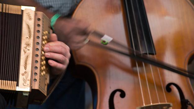 Das Schwyzerörgeli ist das meist gespielte Instrument bei den Jungmusikanten.