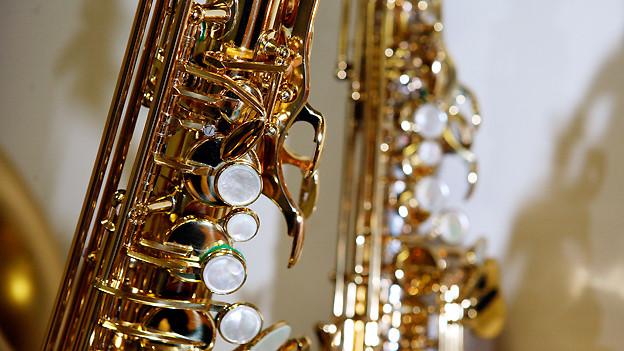 Ein Selmer Saxophon, wie es viele grossartige Jazzmusiker wie Stan Getz benutzten oder benutzen.