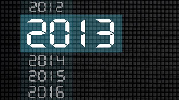 Statt mit zwanzighundertdreizehn wird das Jahr 2013 in der mündlichen Sprache mit zwanzig-dreizehn benannt.