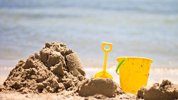 Wo Wasser und Sand ist lässt sich zum Beispiel herrlich «gusle».