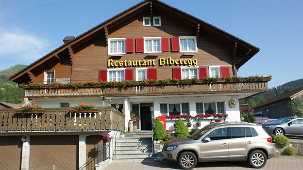Restaurant Biberegg in Rothenthurm SZ.