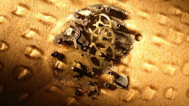 Sand im Getriebe bremst unseren Enthusiasmus aus.