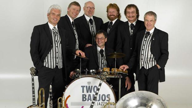 Die Two Banjos Jazzband aus Luzern.