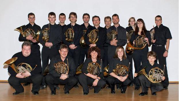 Die Horngruppe Obwalden ist eine der Formationen die bei «Musik und Gastronomie» auftritt.