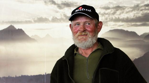 Muotathaler Wetterprophet Karl Reichmuth.