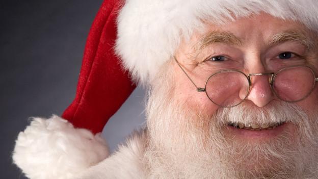 Ein Weihnachtsmann wie aus dem Bilderbuch (Symbolbild).
