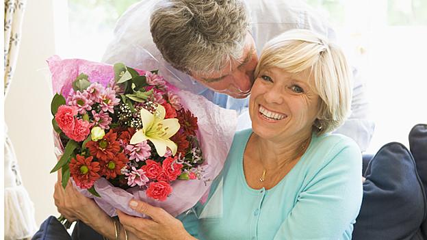 Blumen jeglicher Art und Couleur sind der Renner am Valentinstag.