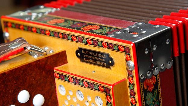 Beliebtes Instrument in der Schweizer Volksmusik: Das Schwyzerörgeli.