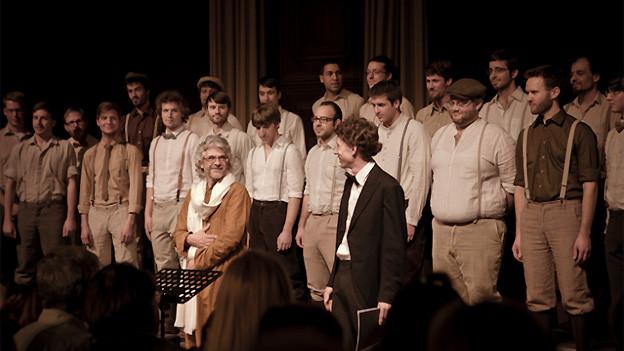 CD Taufe von «Tonträger N°2» der Männerstimmen Basel.