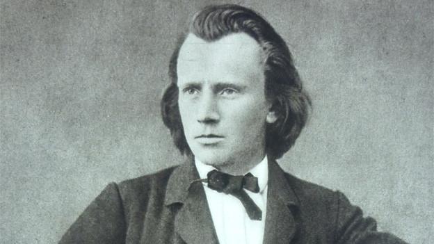 Der junge Johannes Brahms um 1866.