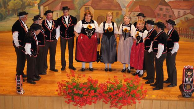 Am Bernisch-Kantonalen Jodlerfest.