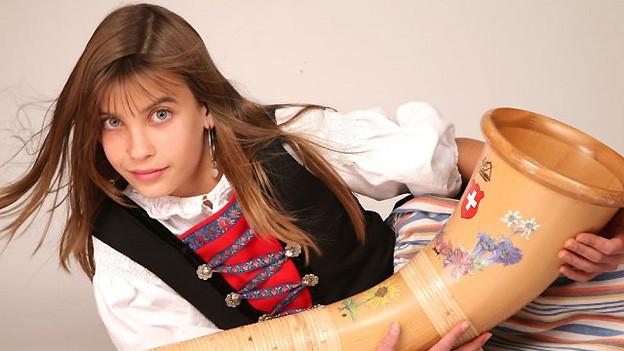 Lisa Stoll wurde 2008 beim «Folklorenachwuchs» mit dem Jurypreis ausgezeichnet.
